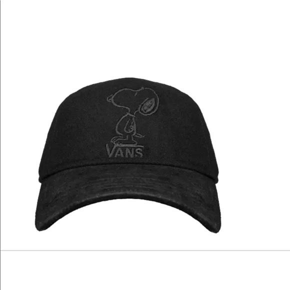 8a9ae5f3d8d12 Vans Men s Tonal Dugout X Peanuts Strapback Hat